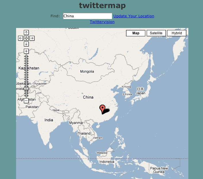 Twittermap