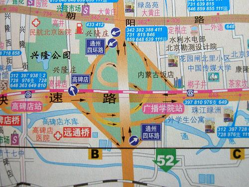 Beijing_clover_map